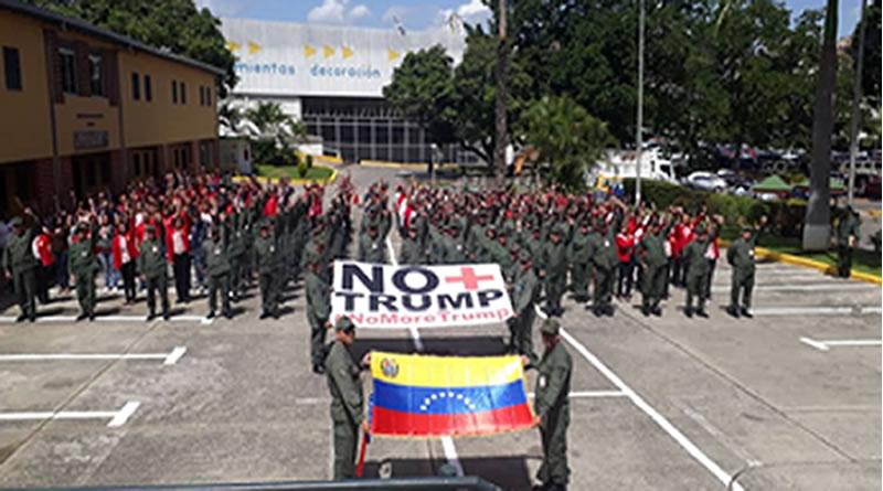 IPSFA se suma a la campaña contra el bloqueo impuesto por parte de la administración de Donald Trump